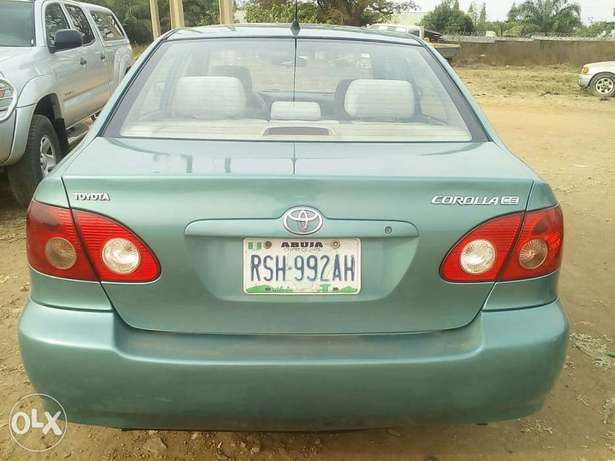 Toyota corolla 2008 model clean in and exterior Kubwa - image 1
