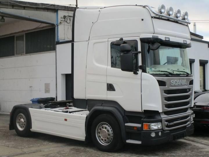 Scania R490 4X2 Topline Klimaaut. Retarder Nebenantrieb - 2014