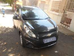 Chevrolet Spark 1.2 LS, 2014 model, Grey in color in color for sale