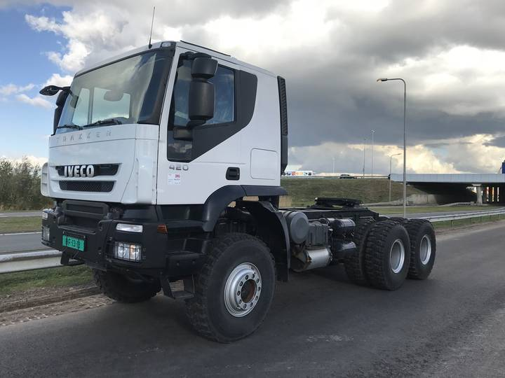 Iveco Trakker AT720T42WTH 420 6x6 Heavy Duty Tractor Head new u... - 2018