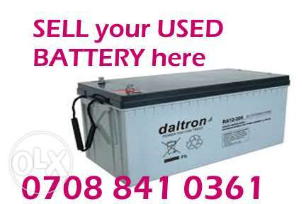 Sell your dead inverter batteries here abuja Lokogoma - image 2