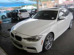 2014 Automatic White BMW 3 Series 320D M Sport