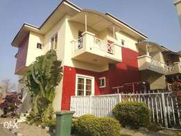 Tastefully finished 4 Bedroom Semi-Detached Duplex with 1 Room BQ