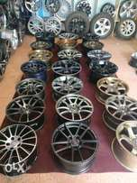 16 nch to 19 nch in different types of rims for different types of car