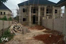 Uncompleted 5bedroom duplex at Goshen premier layout for sale