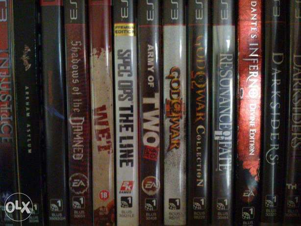 PS3 - Playstation 3 Games / 50sr a piece ( 5 pictures )