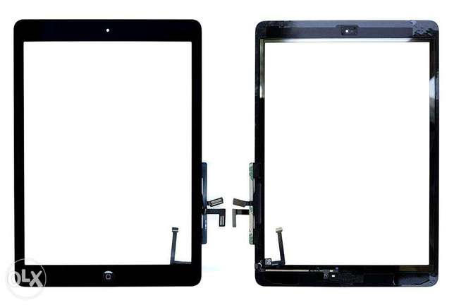 Techorbits Replacement 9.7 inch Touch Digitizer Glass for IPAD Air