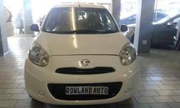 2013 nissan 1.4 micra for sell R70,000