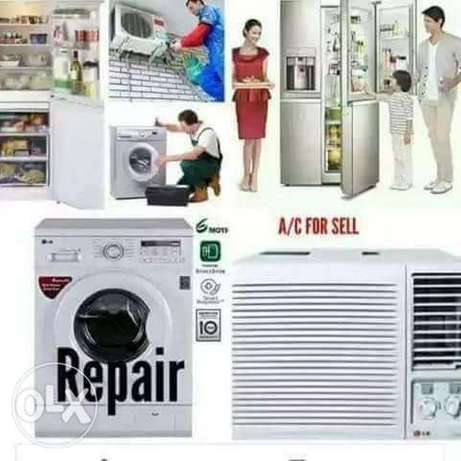 A/c Fridge Washing Machine Repair Service