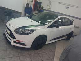 Ford Focus st front spoiler