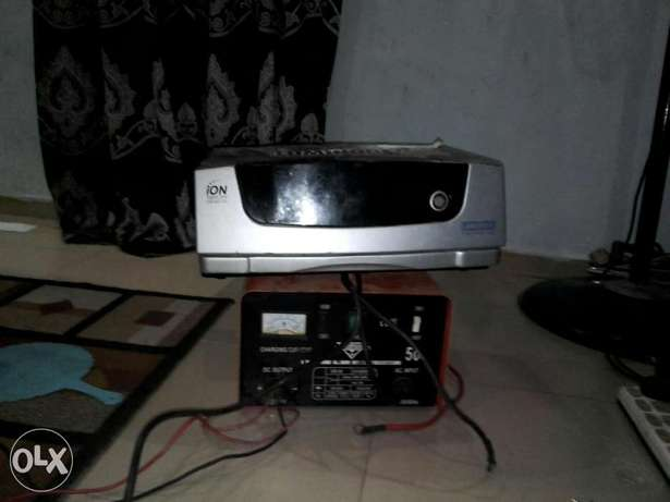 Inverter. Plus charger in give away price Lagos Mainland - image 2