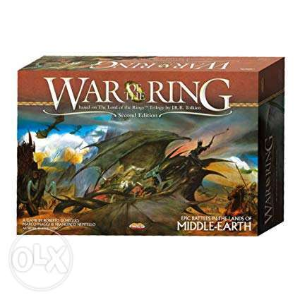 War of the Ring Board Game! Best board game ever (Brand New condition)