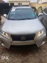 Fresh foreign use rx350 sport 2013/014 full option