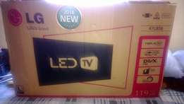 47''lg led tv with remote control 47lb56t