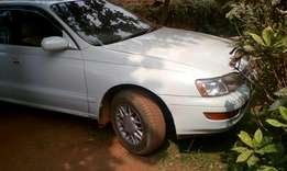 A cheap grey Toyota corona car for sale