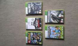 X-box 360 games for sale  Tzaneen