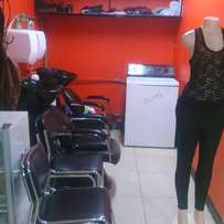 Busy operating beauty parlor for sale/ Kenya cinema