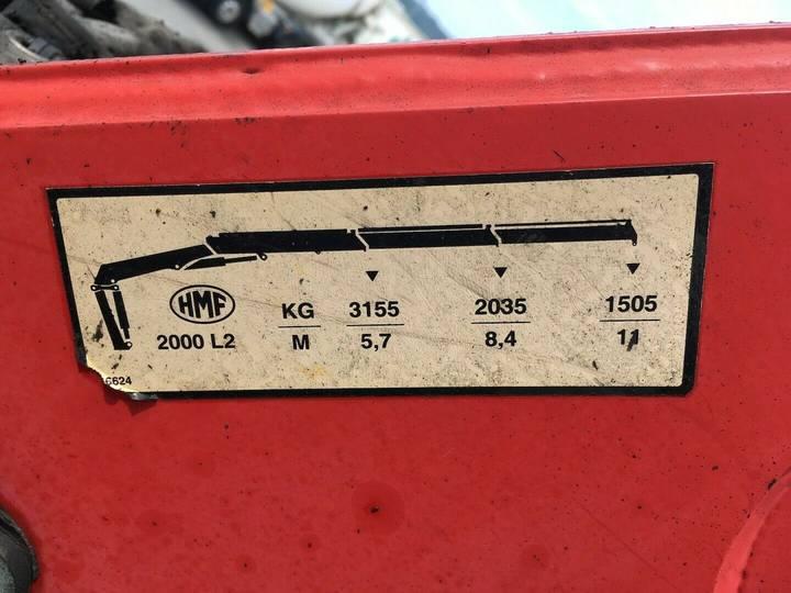 Scania R500 6x2 HMF 2000 L2 Baustoff Greiferleitung V8 - 2007 - image 18