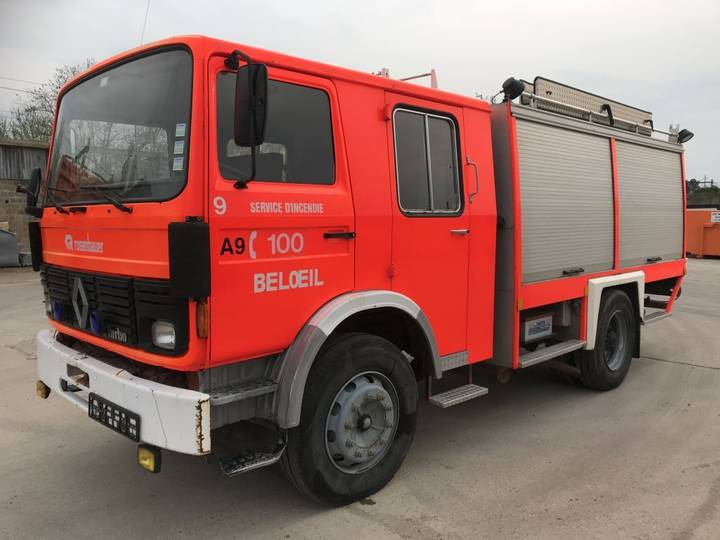 Renault S170 **POMPE+CUVE---PUMP+WATERTANK** - 1986