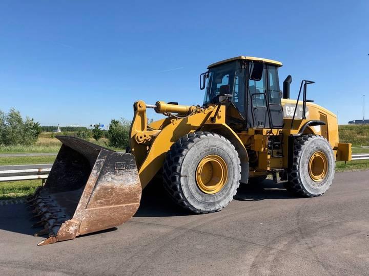 Caterpillar 966H Full Steering Wheel - 2012