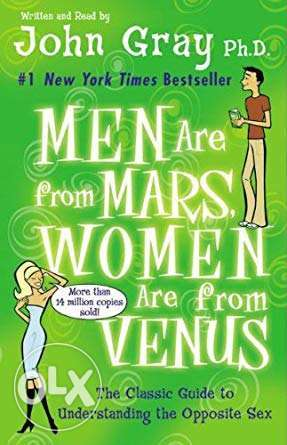 men are from mars < women are from venus