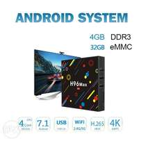 (OFFER!!) Android TV BOX. H96 MAX : 4GB RAM, 32GB emmc, 4K