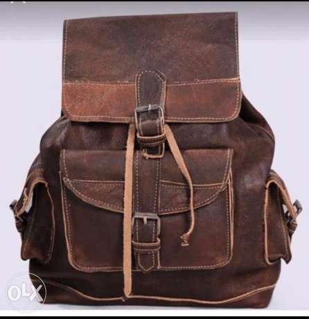 New fashion Real genuine Egyption leather bag .
