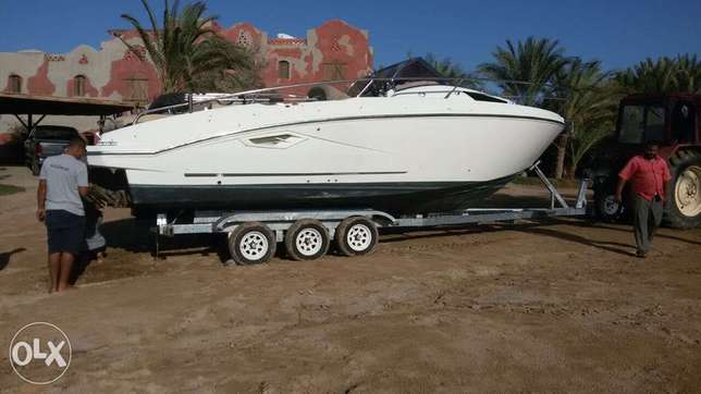 triple axle trailer for yachts or big boat Trailer