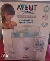 Avent 6 bottles sterilizer in an excellent condition.