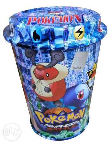 Brand New 60 Pokemon Playing Cards in a Cup