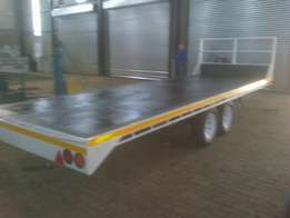 Selling new trailers