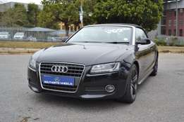 2010 Audi A5 2.0 TFSI Cabriolet Multitronic in very good condition