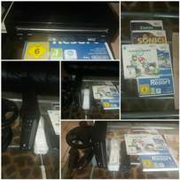 Wii, consoles and games