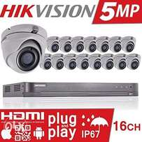 5PM Turbo HD cameras installation and 2Tb All good Material