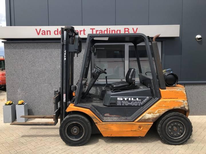 heftruck STILL R70-40 duplo335 2004 8950uur LPG - 2004