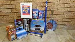 Cadac Compact Chef Mini Braai and other Cadac items all Brand new