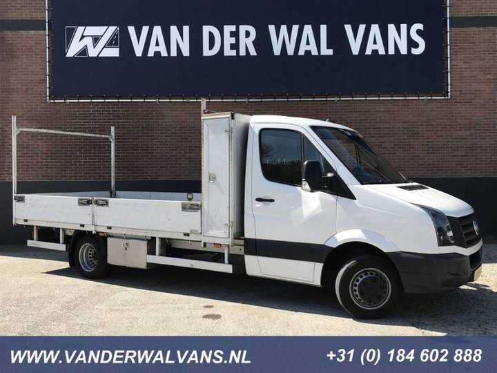Volkswagen Crafter 50 2.0TDI L3 Pick-up Airco, Cruise, Trekhaak 3000kg - 2013