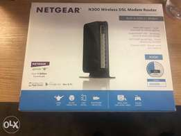 Netgear n300 wireless modem router