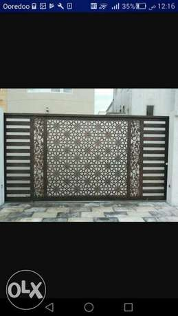 Custer aluminium gate and door