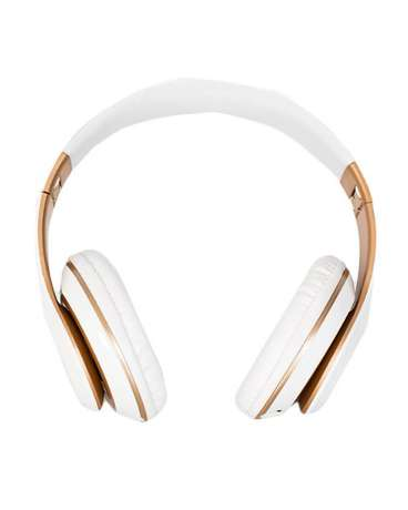 Big Daddy Bass 6S Wireless Bluetooth Headset - White & Rose Allsops - image 2
