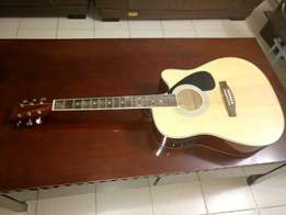Fender guitar semi acoustic