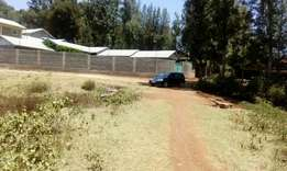 Ngong town 1/8 acre plot on masai rd off matasia road