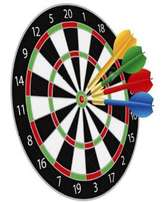 Lambano Throwing Dart Board Games - Multicolour