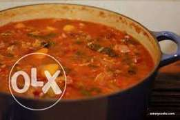 Pot Of Soup- Nigerian Delicacy, Rich And Healthy At Your Door Step .