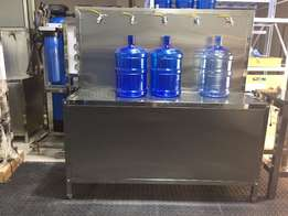 Five Tap Filling Table