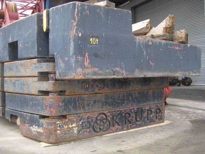 Krupp Kmk 8350 Counterweight
