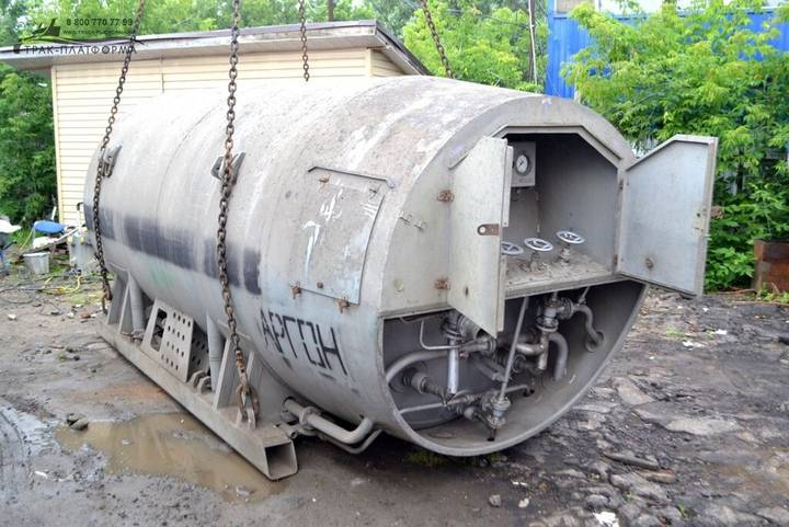 ctk-8,0-0,25 kriogennaya cisterna gas tank - 2019