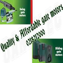 Qualified gate motor installers and repairers - all areas in Cape town
