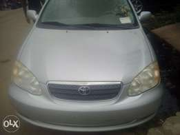 2006 Tokunbo Toyota Corolla Silver colour for sale 2.2M