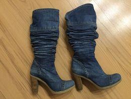 103437146 Джинсовые Сапоги - Женская обувь - OLX.ua